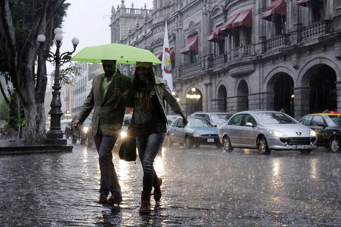 Resultado de imagen para puebla lloviendo